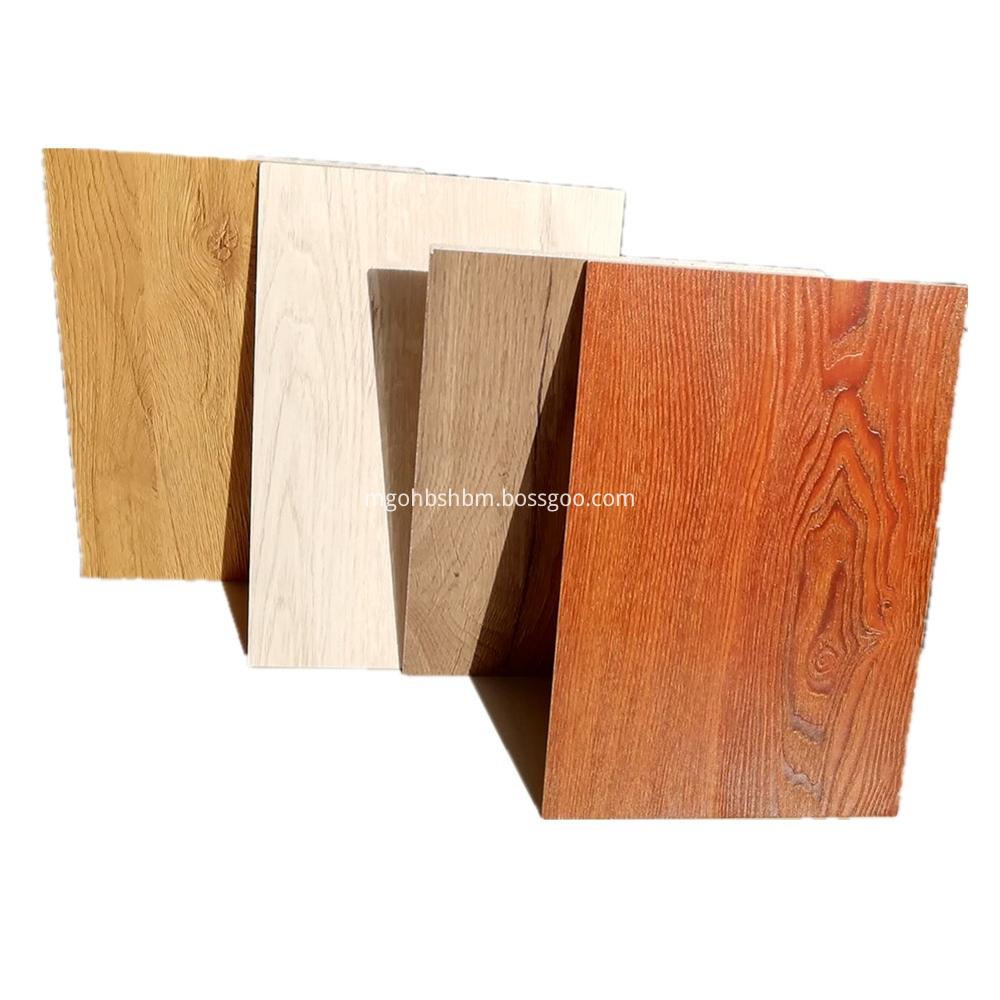 Fireproof Decorative Wood Grain MgO Wall Board