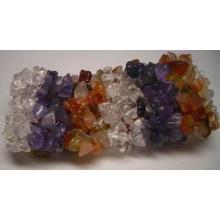 Bracelete - Gemstone fichas Strecth pulseira