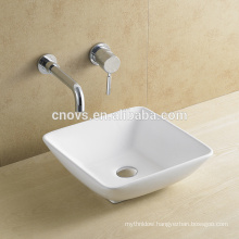 Popular Design Square Shape Hot Basin Sinks Ceramic