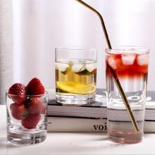 High Quality Round Borosilicate Glass Water Cup