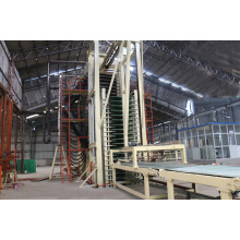 Línea de producción de fibra de densidad media