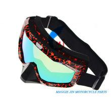 Accessoires de moto Goggles de moto de cadre unique