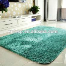 polyester royal blue long pile shaggy carpet