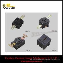 2kw 2.5kw 2.8kw 3kw 4kw 5kw 6kw gerador japonês tomada gerador receptáculo (GGS-JS)