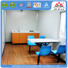 Cheap custom made prefabricated container house self contained kitchens