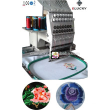 Single head computer embroidery machine price with wholesale embroidery hoops(EG1501/1201C)