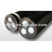 Cable de alimentación XLPE aislado de la envoltura de la ventaja que pone el cable acorazado