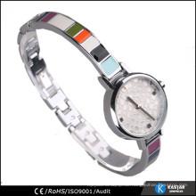 Westliche Damen Quarzuhr kleine Armbanduhr