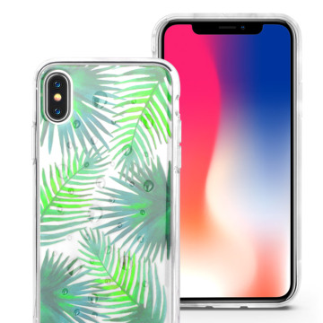 Soft Clear Crystal TPU iphone X Case