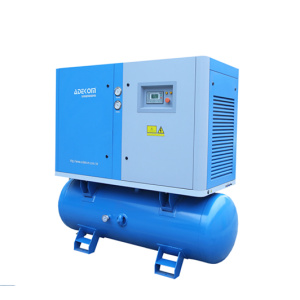 1.3Mpa Receptor Montado Electric Rotary Air Compressor