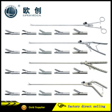 Reusable Stainless Laparoscopic Abdominal Surgical Needle Holder