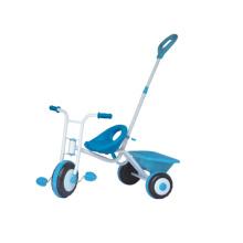 Kinder Baby Dreirad mit Schiebegriff und Korb