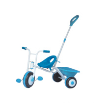 Children Baby Tricycle with Push Handle and Basket