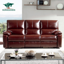 Hot Selling Home Theatre Recliner Modern Leather Sofa Cheap Living Room Furniture