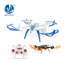 2,4 GHz 4 Chnnel 6 Axes Gyroscope RC Drone Ready-to-Flying RC Helicopter avec caméra en option