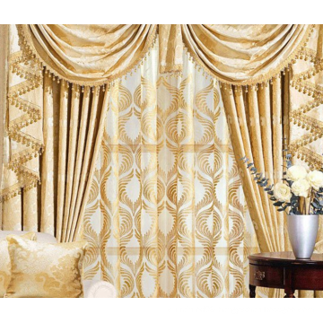 Luxury curtain fabric for curtains