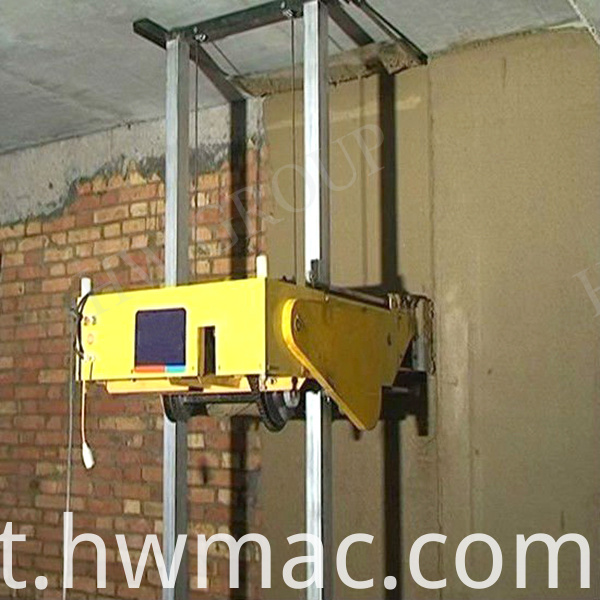 walll rendering machine