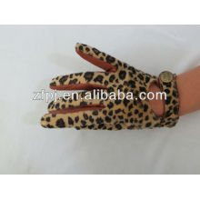 hot sale lady leather fashion accrssories Glove With Agraffe