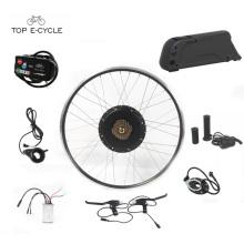 Kit de alta calidad del motor eléctrico de la bici de 28inch 48V 1000W / kit eléctrico de la conversión de la bici