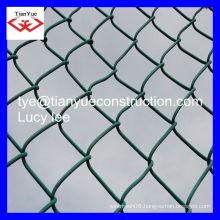 2015 HOT SALE !! Tian Yue hot dipped&electric galvanized chain link fence, chain link wire mesh, chicken wire mesh, diamond mesh