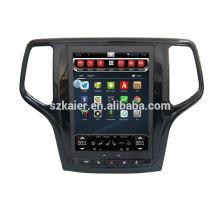 Quad core! Android 6.0 voiture dvd pour JEEP GRAND CHEROKEE avec écran capacitif de 10,4 pouces / GPS / lien miroir / DVR / TPMS / OBD2 / WIFI / 4G