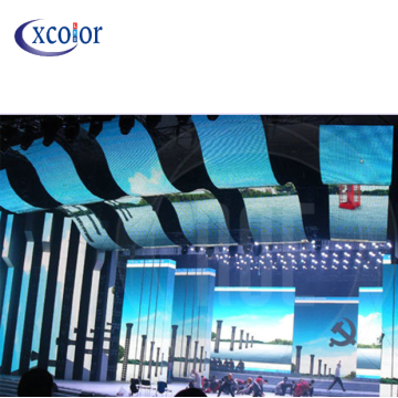 Flexible LED Curtain Display P10 LED Panel Screen