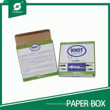 El proveedor de China imprimió la caja de empaquetado del papel de Fishook de los nudos de la pesca / de los aparejos