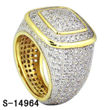 High Quality Fashion Jewelry 925 Sterling Silver Ring with Diamond