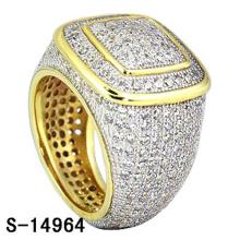 Alta qualidade moda jóias 925 anel de prata esterlina com diamante