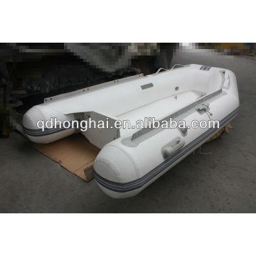 CE inflatable fiberglass hull rib boat RIB250 with CE