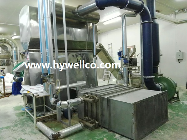 Fluid Bed Drying Machine