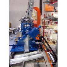 Ight peso del marco de acero C Canal metal perno rodillo formando máquina / CULW luz medidor de acero Canal marco rodillo formando la máquina
