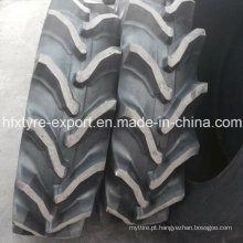 Japonês médio alto do passo padrão pneumático pneumático de agricultura 13,6-28 com melhores preços, pneus de trator