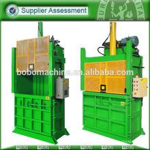 Plastic recycling machine baler
