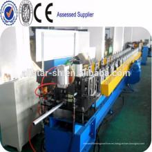 Hidráulicas de corte redondo de máquina formadora de rollos de bajante, pipa de acero del rodillo que forma la máquina