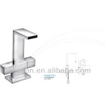 2014 New Style Premium Square Double Control Basin / Kitchen Tap / Faucet