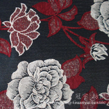 Estofos Jacquard Chenille Snow Fabric para capas de sofá