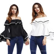 Poliéster premium Artículos en existencia Mujeres una camiseta de mujer sexy nect