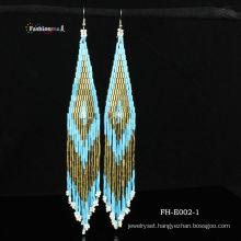 2013 person charm handmade bead earrings