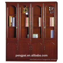Four door big luxury study room office cabinet