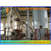 Spray drying tower for floor tile material