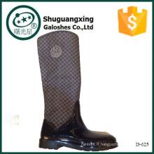 Chine wellies tournesol bottes de pluie à talons chaussures de mise à la terre B-888
