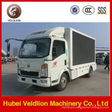 Mounted LED Screen Advertising Truck