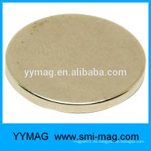 Forma del disco y imán del neodimio Imán compuesto del neodimio del altavoz