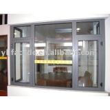 Aluminium Temperature-Saving Outside Opening Casement Window