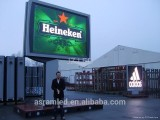 Full color p16 advertising outdoor led video billboards