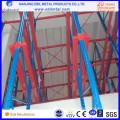 Entraînement métallique largement utilisé dans le rayonnage de palette de haute qualité