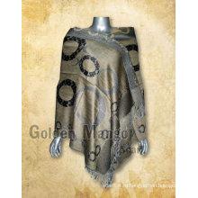 Модный вискозный пашминовый шарф
