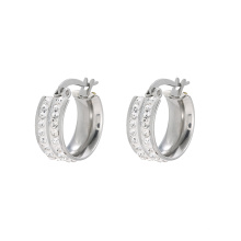 E-590 Xuping charm Jewelry 2018 wholesale Earrings Elegant fashion Hoop earrings