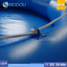 Comercial gigante inflável piscina para adultos grande piscina inflável